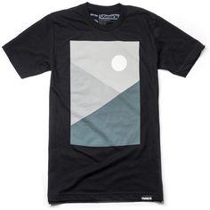 Night by Ugmonk T Shirt Designs, New T Shirt Design, Shirt Print Design, Tee Design, Custom T Shirt Printing, Printed Shirts, Cool Shirts, Tee Shirts, Skate Shirts