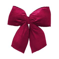 Felices Pascuas Collection Large 16 inch x 19 inch Burgundy Red Indoor Velvet Christmas Bow Candy Cane Christmas Tree, Christmas Ornament Sets, Christmas Bows, Xmas Ornaments, Xmas Tree, Fabric Bows, Red Fabric, Star Tree Topper, Xmas Decorations