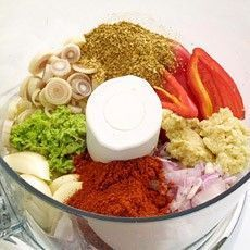 Delia's Thai Red Curry Paste - loads of flavour for healthy stir fries. Cook off well before adding other ingredients.