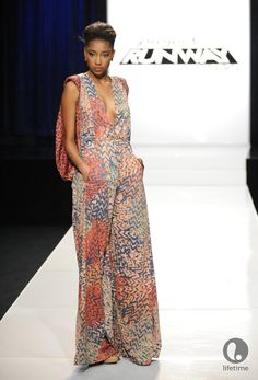 Laura Kathleen from Project Runway All-Stars, love this look!