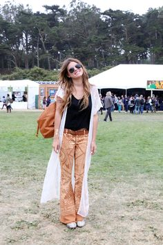Festival Fashion At Outside Lands 2014 | Free People Blog #freepeople - Dude where did you get those pants.