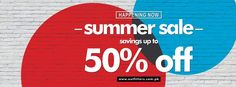 Upto 50% Off - Outfitters Summer Sale 2014