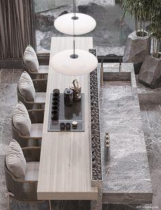 Interior Architecture, Interior And Exterior, Kitchen Interior, Kitchen Design, Clubhouse Design, Interior Styling, Interior Design, Home Office Design, Home Renovation