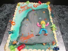 Rock Climbing Birthday Cake Lancaster PA | Oregon Dairy Bake Shoppe