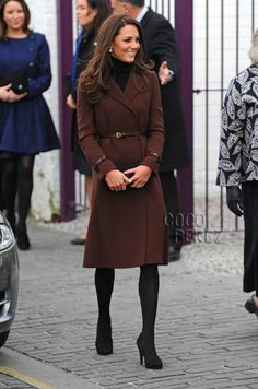 Kate Middleton's sartorial style. Can I just have everything in her closet?