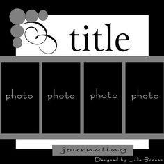 Scrapbooking layout idea