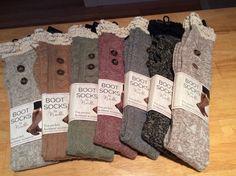 Lace Boot Socks by Noelle #Noelle