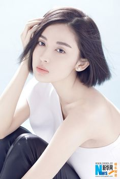 Chinese actress Na Zha… Asian Celebrities, Beautiful Celebrities, Japanese Short Hair, Girl Drawing Pictures, Good Looking Women, Beautiful Asian Women, Girl Face, Pretty Face, Girl Hairstyles