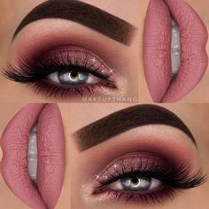 Best Fall Makeup Looks and Trends for 2017 ★ See more: http://glaminati.com/fall-makeup-looks/