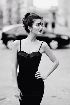 class girl pale skin dress elegance city photography