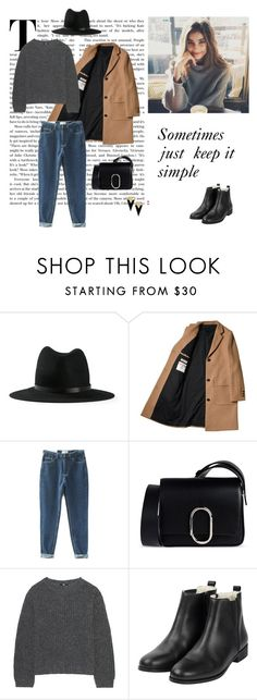 """11/10"" by dorey on Polyvore featuring rag & bone, 3.1 Phillip Lim, Uniqlo and Yves Saint Laurent"