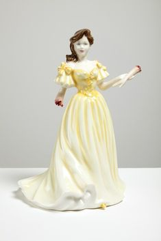 For the precious collectible shelf? Artist:: Jessica Harrison - Mairi, 2010, found ceramic, epoxy resin, enamel paint, 19 x 13 x 13cm #HKJ365 #severed #gore