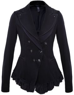 High by Claire Campbell Women's Double Breasted Jacket   Jules B