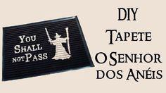 DIY: Tapete SENHOR DOS ANÉIS (Lord of The Rings Carpet - Gandalf)