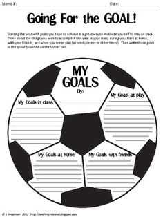 okay, this kind of just sparked a thought that i needed to share. what if instead of doing my goals we could put this on the soccer team page and either put like pictures in each of the white squares or some question that we ask the soccer players headlines