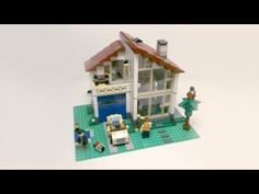 Review - Lego Creator: Family House (31012) [CC] - YouTube