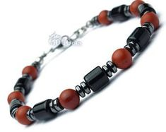 Items similar to Beautiful Bracelet for man/woman O tube beads 6 mm stone natural Agate/onyx black matte red Jasper Hematite on Etsy Mens Beaded Necklaces, Beaded Jewelry, Unique Jewelry, Bracelets For Men, Jewelry Bracelets, Jewelery, Body Jewellery, Stone Bracelet, Jewelry Accessories
