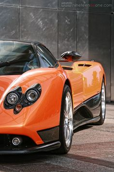 Pagani Zonda F Roadster . . . might be able to find one for US $1.5 million