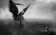 Grim Reaper With Wings Wallpapers High Resolution