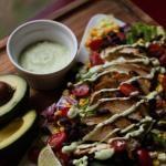 Homemade Avocado Ranch Dressing {and a salad ...