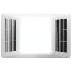 New Bath Fan Broan 4 Sone 70 Cfm White Bathroom With Light