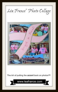 We can always find hope and strength in friends! If you have photos of your best friend, use this inspirational Hope page designed by Joyce, to document every captured moment!  If you love this Hope Stencil, you can get it here: http://lea-france-store.com/products/copy-of-water-lily-stencil-4