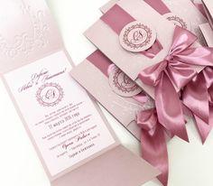 Мастерская Кристины Стриги: Яркая, малиново-розовая свадьба