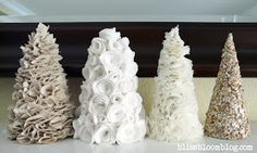 bliss bloom {blog} ~ a craft and lifestyle journal: [Make] Trees, Lots of Trees