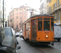 Milan's Trams. Rumor has it that no map exists for the tram system in the city of Milan.