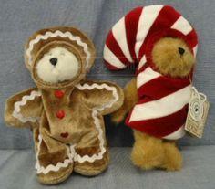 shopgoodwill.com: 2 Holiday Boyds Bears