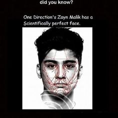 My friend did a whole project on how perfect Zayn Malik's face was. She got an A<<<< lol what<<< don't question the perfection of zayn Malik's face! One Direction Zayn Malik, One Direction Memes, I Love One Direction, Zayn Malik Facts, First Love, My Love, 1d And 5sos, In This World, Fun Facts