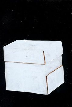 Rachel Whiteread, Untitled (2004). Gouache and collage on paper
