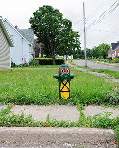 Stellarton Ninja Turtle Hydrant