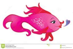 Female Fish Cartoon Stock Vector - Image: 39063702