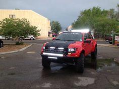 Custom Ford Raptor, Addictive Desert Designs, Vision X Lighting