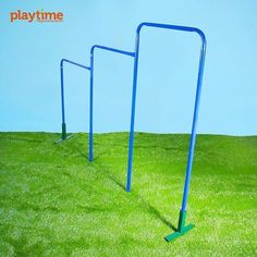 The good ol' fashion chin-up bar remains one of the best outdoor gym structures for kids and adults. Add this one to your neighborhood playground so everyone can use it. #PlayTimeUs #OutdoorPlaygrounds#PlayroundEquipment