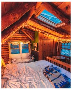 Cabin Homes, Log Homes, Cabin Design, House Design, Diy Cabin, Winter Cabin, Winter Night, Winter Snow, Cabin Interiors