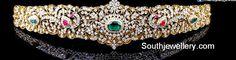 Indian Jewellery Design, Latest Jewellery, Indian Jewelry, Jewelry Design Earrings, Diamond Jewelry, Gold Jewelry, Waist Jewelry, Jewelry Patterns, Wedding Jewelry
