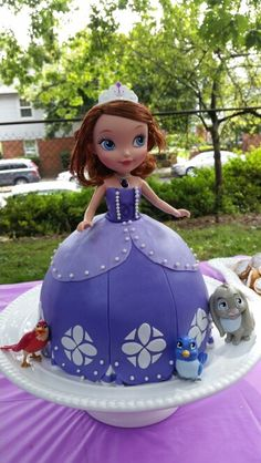 Sofia the First doll Cake made by estera