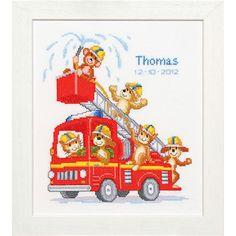 Fire Truck Birth Record