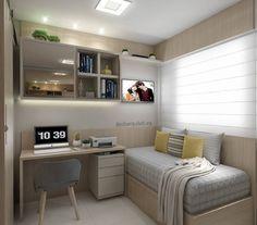 Small room design – Home Decor Interior Designs Tiny Bedroom Design, Small Room Design, Small Room Bedroom, Room Ideas Bedroom, Home Room Design, Home Office Design, Home Decor Bedroom, Home Interior Design, Bedroom Layouts