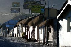 The little town of Putre, Chile