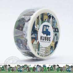 KUBBE Masking tape City