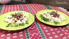Pohorelské tľapkance (videorecept) - recept   Varecha.sk Russian Recipes, Bourbon, Potato Salad, Mexican, Potatoes, Chicken, Ethnic Recipes, Polish, Food