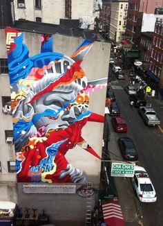 TRISTAN EATON http://www.widewalls.ch/artist/tristan-eaton/ #urbanart #streetart #contemporaryart