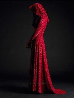 A darker version of Little Red Riding Hood