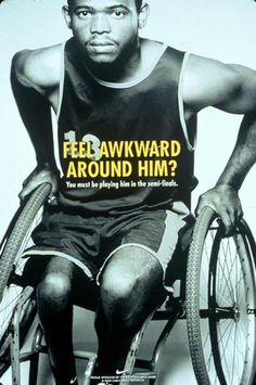 Here's another one of the Nike ad series for past Paralympics that we found:  https://www.facebook.com/LASCIonline