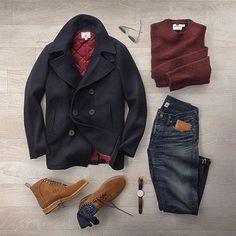 Men's Fashion, Fitness, Grooming, Gadgets and Guy Stuff mode herren Guide To Fall Office Attire Big Men Fashion, Look Fashion, Fashion Coat, Men's Winter Fashion Outfits, Fashion Dresses, Mens Fall Outfits, Coat Dress, Men Dress, Mode Outfits