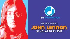The BMI Foundation has announced the opening of the 18th annual John Lennon Scholarships competition. The 2015 program will award three scholarships totaling $20,000 to U.S. college-student songwriters for the best original songs submitted to the competition.
