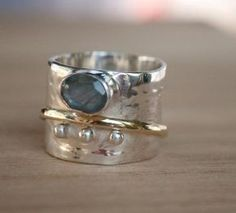 Jewelry Rings, Jewelery, Silver Jewelry, Jewelry Accessories, Fine Jewelry, Jewelry Design, Jewelry Making, Indian Jewelry, Silver Rings Handmade